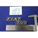 FIAT 500 METAL CHROME