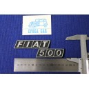 FIAT 500 METALLO CROMATO