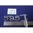 ABARTH 595 ( TIPO GRANDE ) METALLO CROMATO
