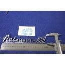 ABARTH FIAT 850 DERNIG METALLO CROMATO