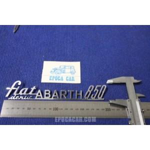 ABARTH FIAT 850 DERIV. METALLO CROMATO