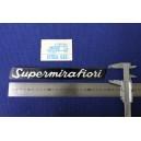 FIAT 131  SUPERMIRAFIORI  PLASTIC