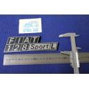 FIAT 128 SPORT L    METAL CHROME