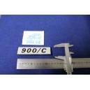 FIAT 127   900C   LATERALE   PLASTICA