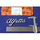 SCRITTA  ALFETTA ( SPESS. 1 MM)  METALLO CROMATO