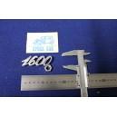 "EMBLEM ""1600 METAL CHROME"