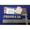"""SCRITTA """"PRISMA 1.6""""  PLASTICA"""