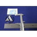 BADGE  AUTOBIANCHI  60mm DIAMETER   PLASTIC
