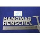 """EMBLEM """"HANOMAG HENSCHEL""""  METAL"""