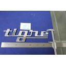 "EMBLEM ""TIGRE"" LENGHT 350 mm METAL CHROME"